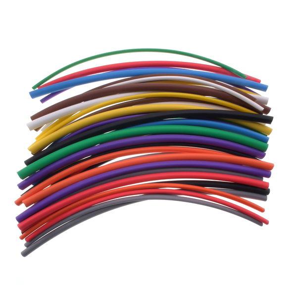 50cm WHITE Heat shrink tubing,1mm diameter,electrical,car,wiring.2:1 shrinkratio