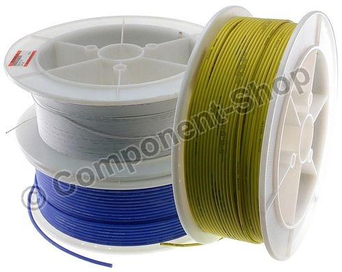 2m 18awg silikon kabel super flexibel hochtemperatur rot. Black Bedroom Furniture Sets. Home Design Ideas