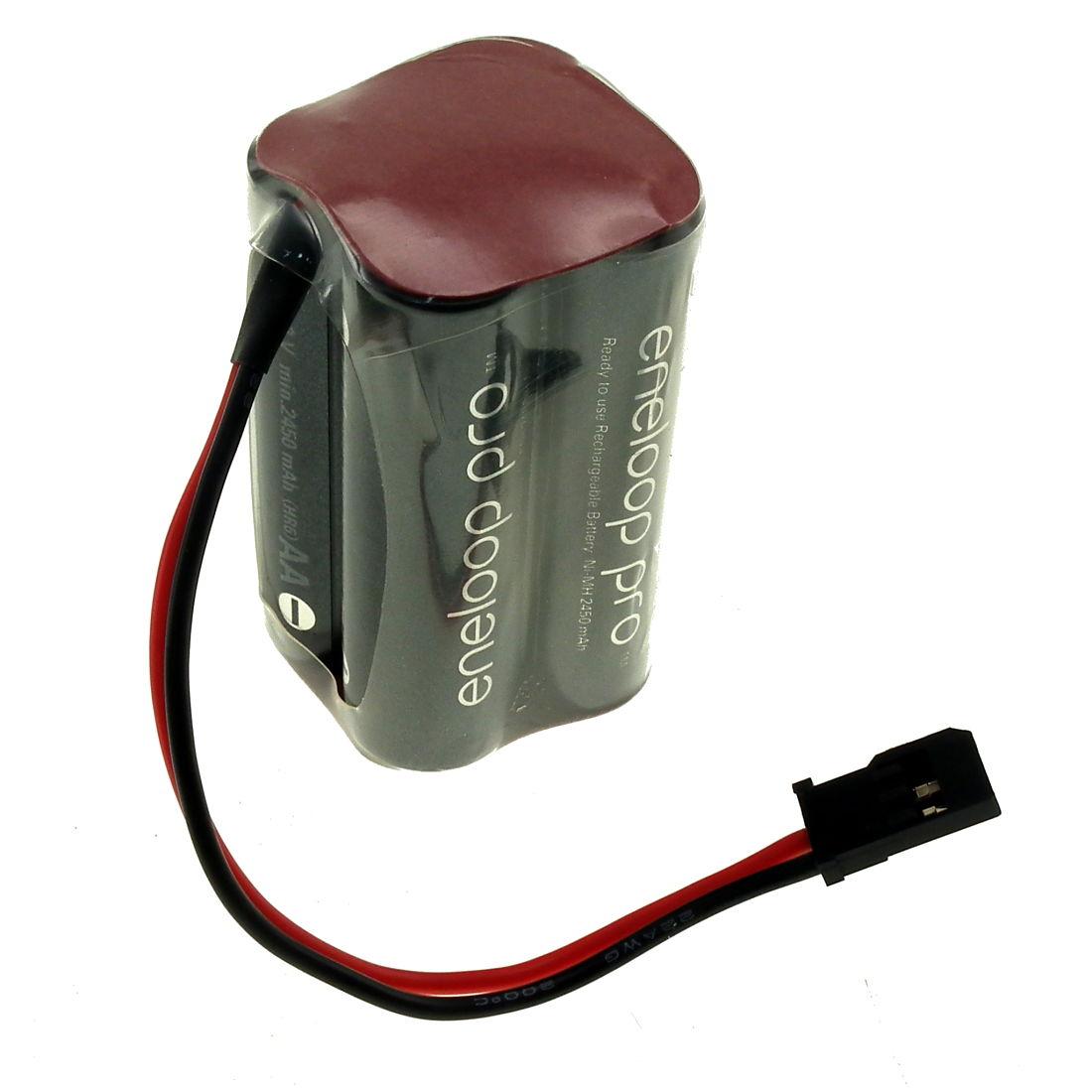 4 8v 2550mah Aa Nimh Eneloop Pro Square Rc Battery Pack