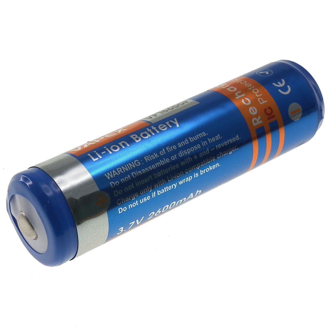 mah li ion  single cell battery button top vapex component shop