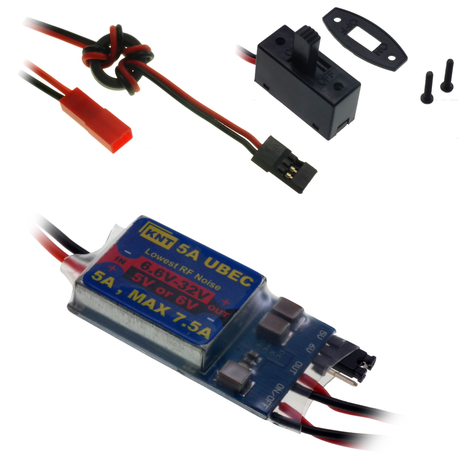 5a max 75a universal battery eliminator circuit ubec with on