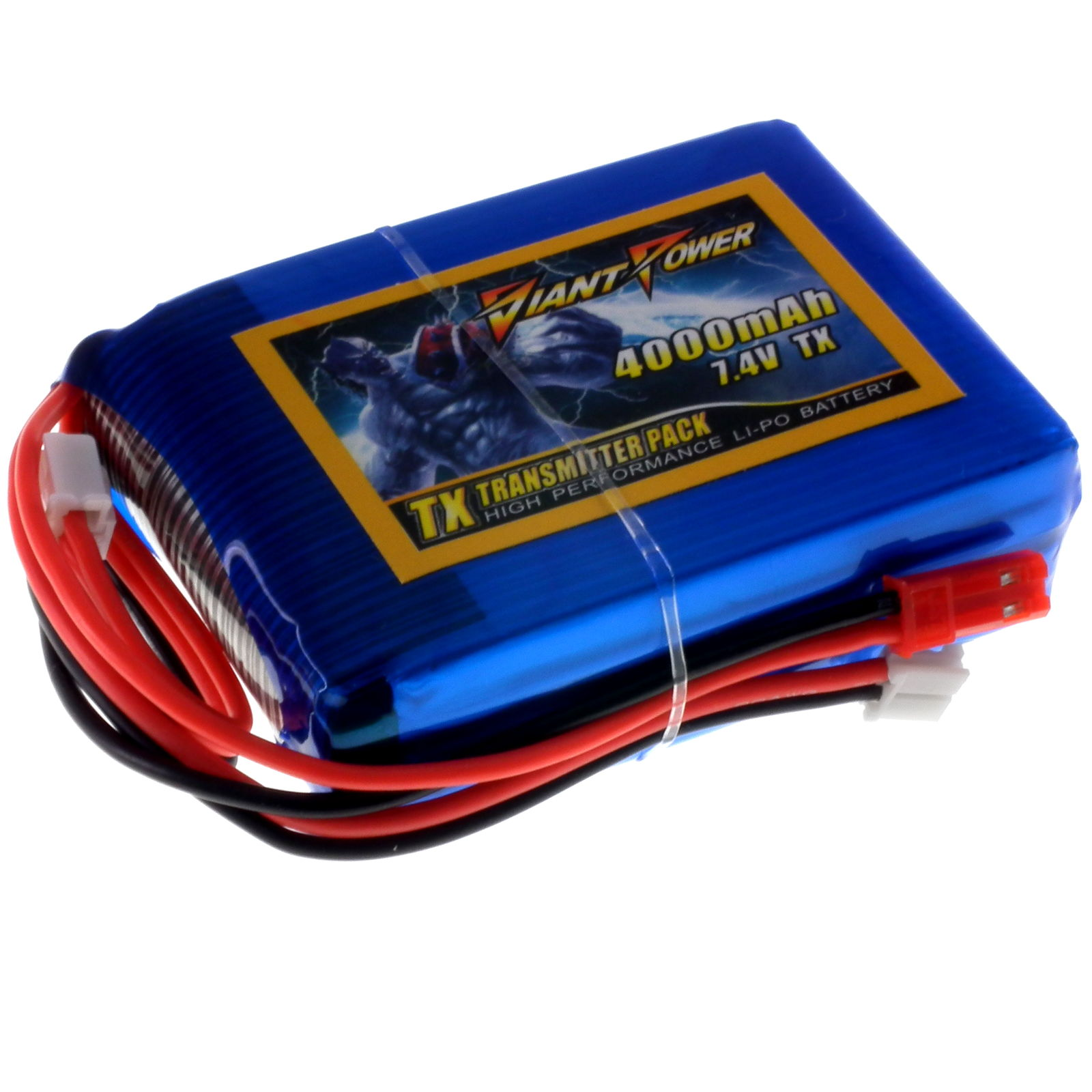 Lipo Life Transmitter And Receiver Battery Packs Component Shop Tips On Powering Rc Servos Receivers Radios Vehicles With Lipos 74v 4000mah 3c 6c Tx For Dx8 Multiple Connectors Giant Power